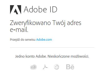 Jak utworzyć identyfikator Adobe ID?