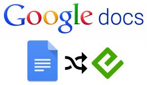 Google Docs - EPUB