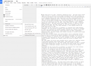 Google Docs - EPUB - 5