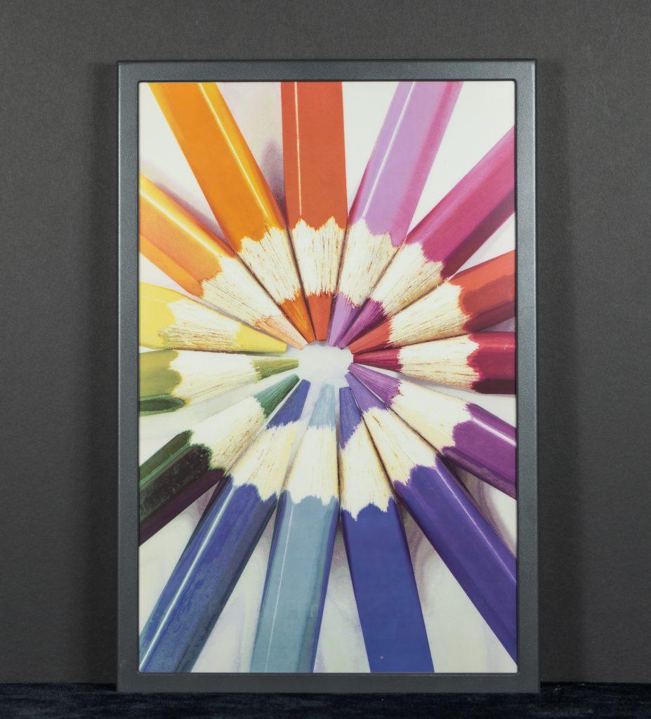 Kolorowy wyświetlacz czytnika