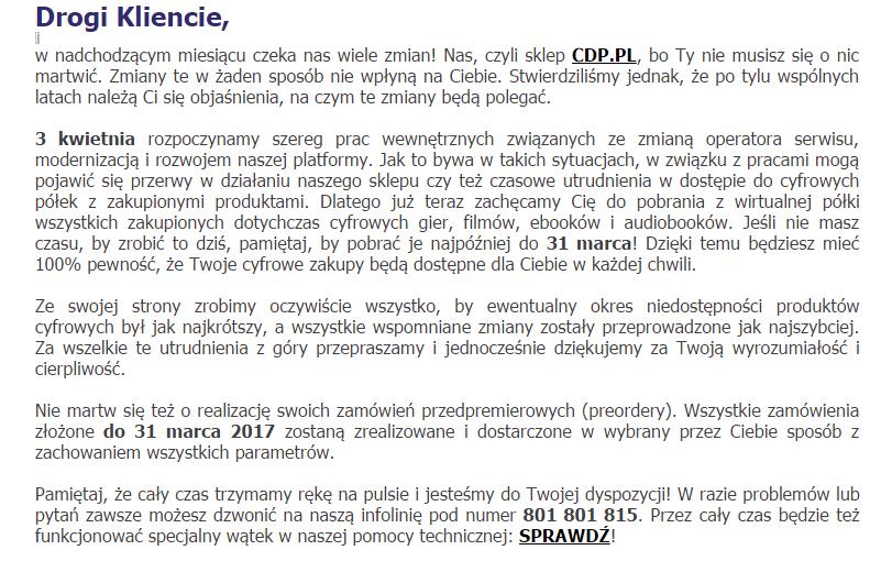 CDP - Wirtualne Półki 2