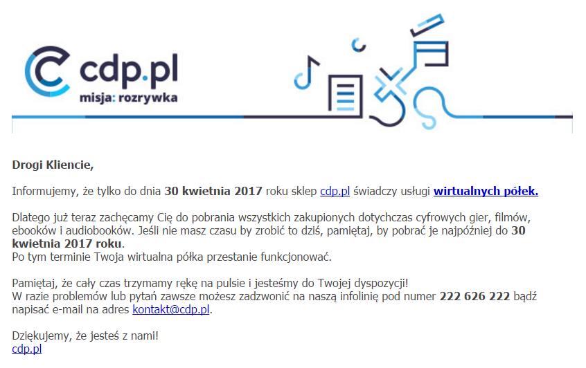 CDP - Wirtualne Półki 1