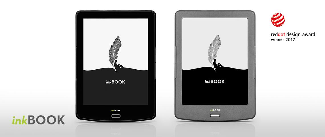 Czytniki inkBOOK wyróżnione nagrodą Red Dot: Product Design 2017