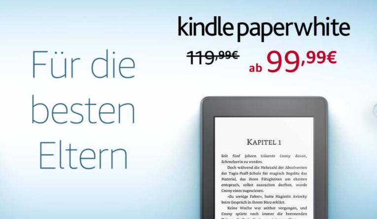 Zniżki na czytniki Kindle z okazji Dnia Matki
