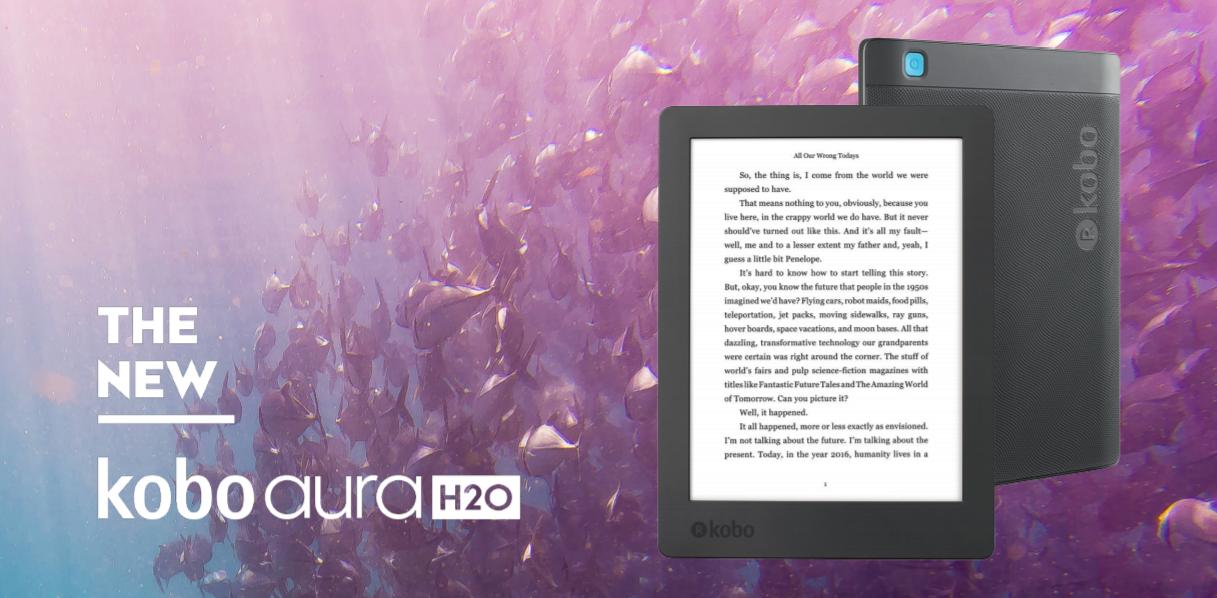 Kobo Aura H2O Edition 2