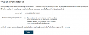 Usługa Send-to-PocketBook - ebookpoint.pl