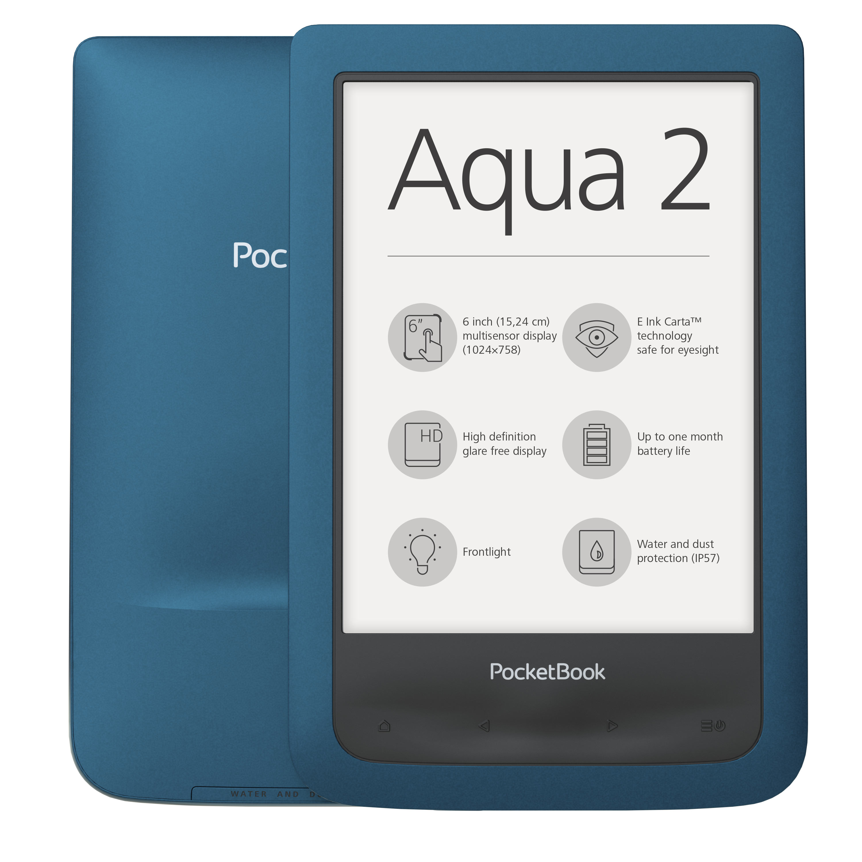 PocketBook Aqua 2 – nowy wodoodporny czytnik szwajcarskiego producenta