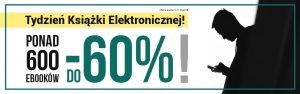 Międzynarodowy Tydzień Książki Elektronicznej - Woblink - baner
