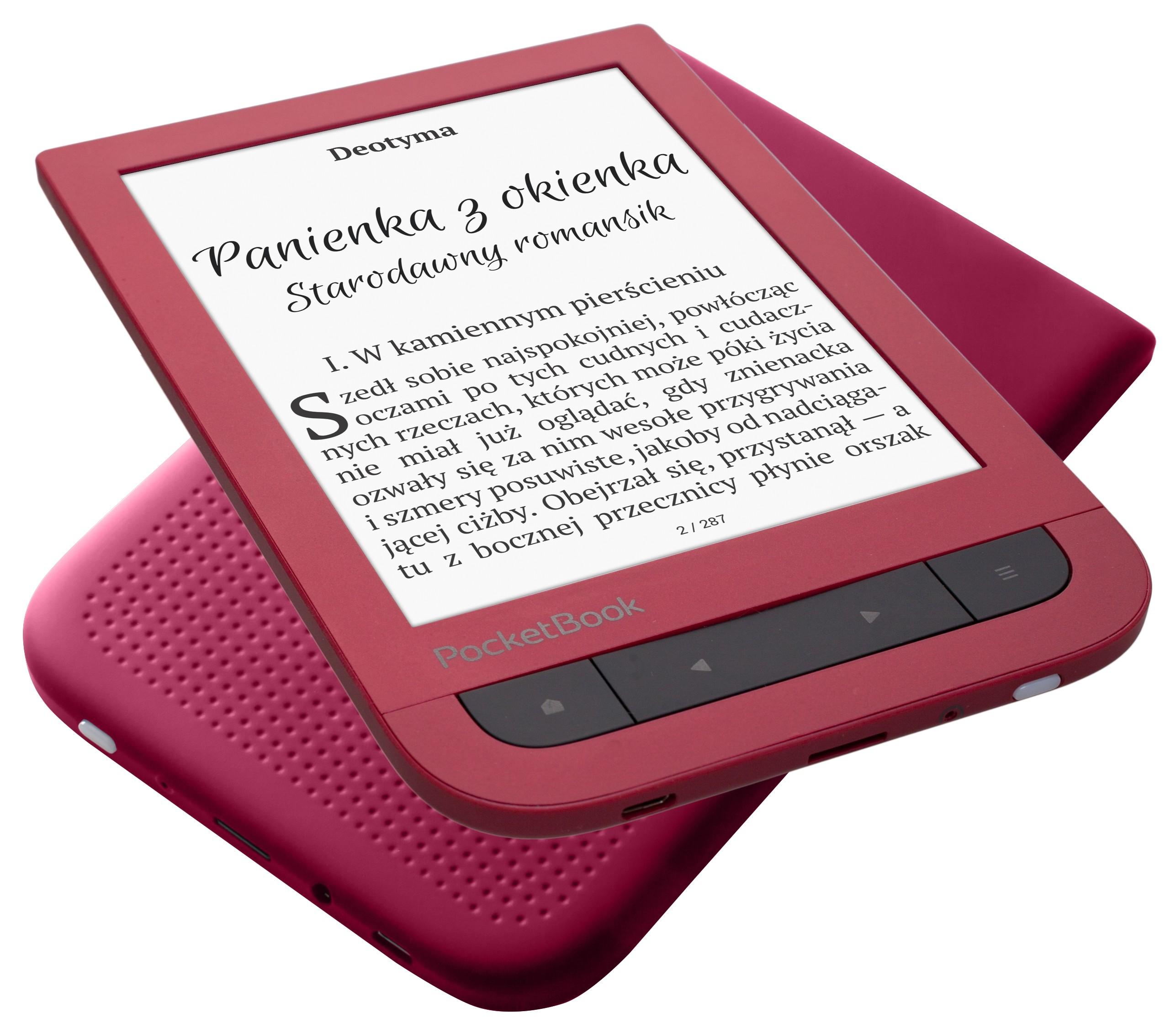 PocketBook Touch HD 2 teraz także w kolorze Ruby Red