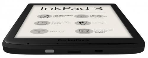 Czarny PocketBook InkPad 3 - dół