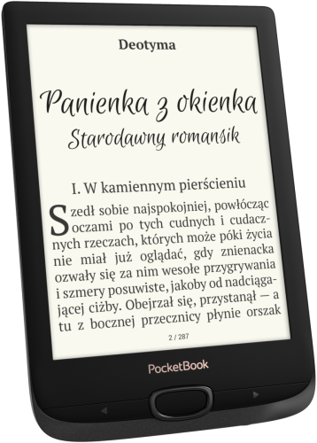 PocketBook Basic Lux 2 - przód