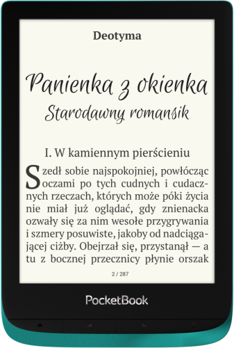 PocketBook Touch Lux 4 - szmaragdowy