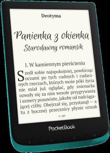 PocketBook Touch Lux 4 - szmaragdowy - przód