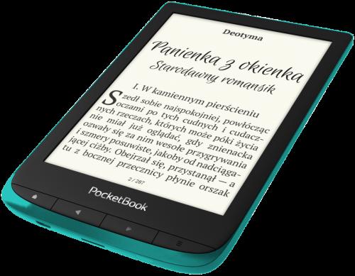 PocketBook Touch Lux 4 - szmaragdowy - prezentacja