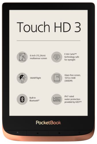 PocketBook Touch HD 3 - przód
