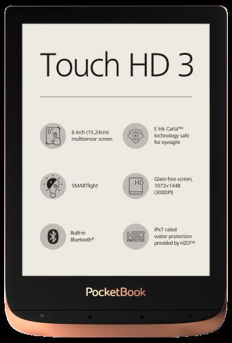 PocketBook Touch HD 3 - przód