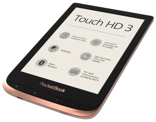 PocketBook Touch HD 3 - prezentacja 2